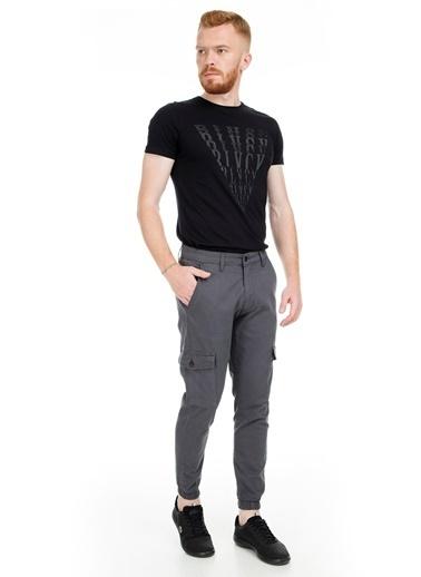Five Pocket Pantolon Gri